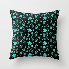 Colorful Lovely Pattern XVII Throw Pillow