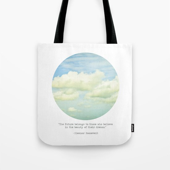 The beauty of the dreams Tote Bag