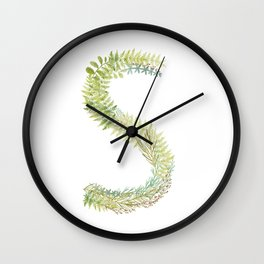 Initial S Wall Clock