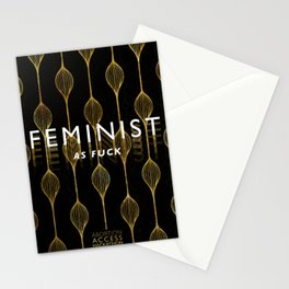 Feminist as F*ck Stationery Cards