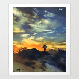AZ Sunset Art Print
