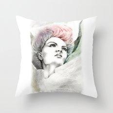 Fallen Faery Throw Pillow