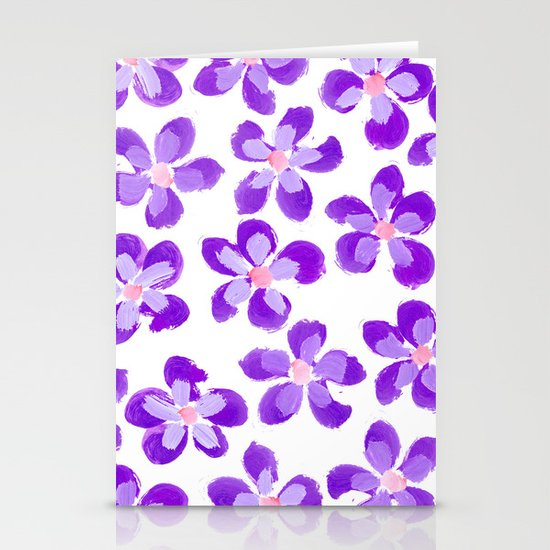 Posey Power - Purple Multi Stationery Cards