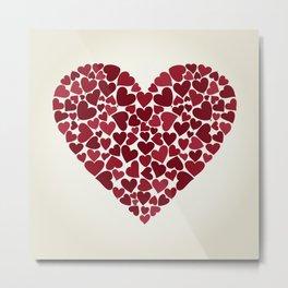 Love9 Metal Print