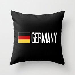 Germany: Germany & German Flag Throw Pillow