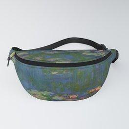 WATER LILIES - CLAUDE MONET Fanny Pack