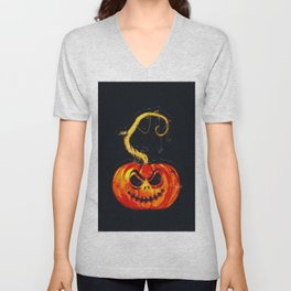 Escape From The Pumpkin Patch Unisex V-Neck