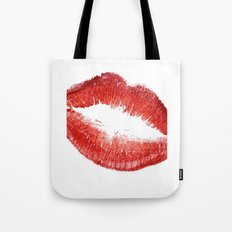 Red Lips Red Lipstick Gift Idea Fashioni illustration Fashion Print Fashionista Home Art Gift Women Tote Bag