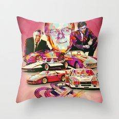 SERGIO PININFARINA: DESIGN HEROES Throw Pillow