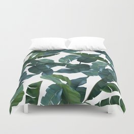 Banana Leaf Decor #society6 #decor #buyart Duvet Cover