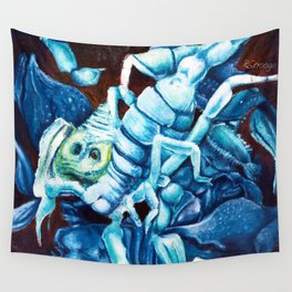 Escher's Scorpion Wall Tapestry