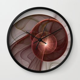 Abstract Digital Art, Fantasy Figure Wall Clock