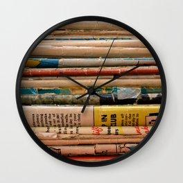 Comic Books Wall Clock