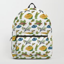 Watercolour bugs Backpack