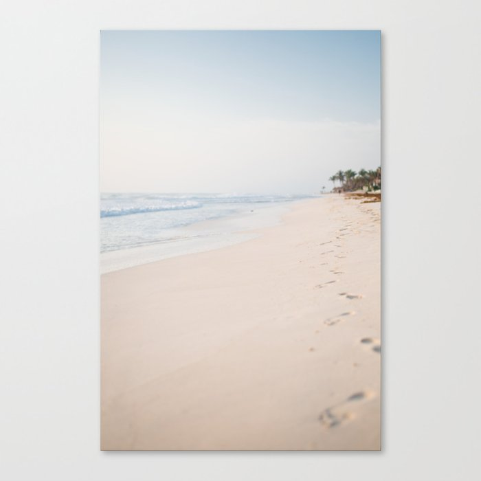 Tulum Beach Leinwanddruck