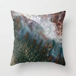 Amethyst Study #1 Throw Pillow