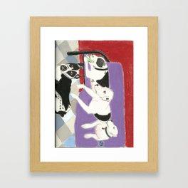 Family Love Framed Art Print