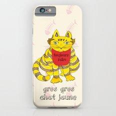 Big Fat Yellow Cat iPhone 6s Slim Case