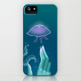 Queen of the Jellyfish iPhone Case