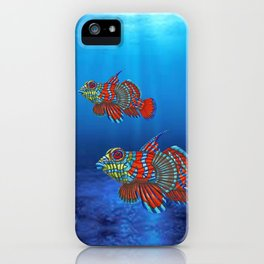 Mandy, the Mandarin Fish iPhone Case