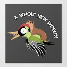 A Whole New World! Canvas Print