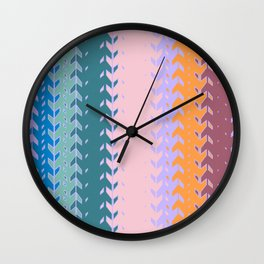 Abstract Formes Wall Clock
