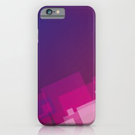 Geometric illustration  iPhone Case