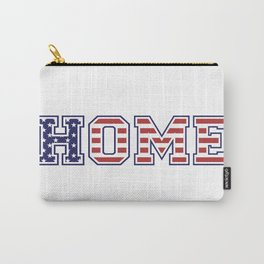 USA HOME, white version Carry-All Pouch