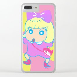 kyary shin chan Clear iPhone Case
