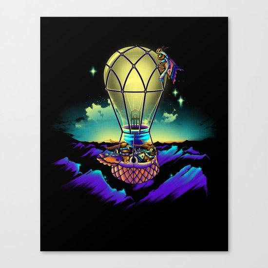 Light Flight Canvas Print
