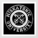 Miskatonic University Emblem (Dark version) by egregoredesign