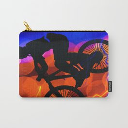 BMX in Light Crystals and Lightning Carry-All Pouch