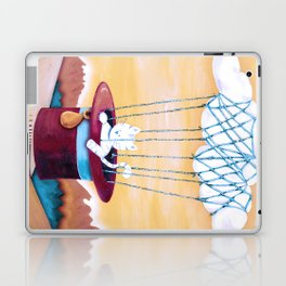 The cat traveling in dreams Laptop & iPad Skin