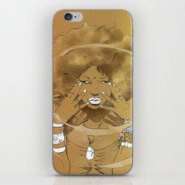 Aire de las Nieves iPhone Skin