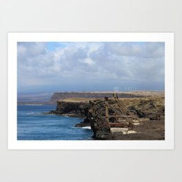 Southern Most Point of the United States Art Print