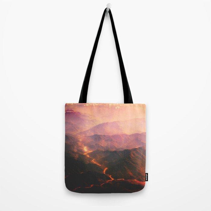 Volcano active Tote Bag