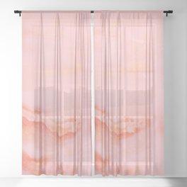 Digital Paper Sheer Curtain