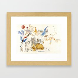 The Dream Capture Framed Art Print