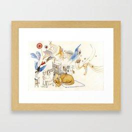 The Dream Capture Framed Art Print