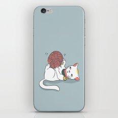 Playful Maneki Neko iPhone & iPod Skin