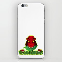 Veganasaurus iPhone Skin