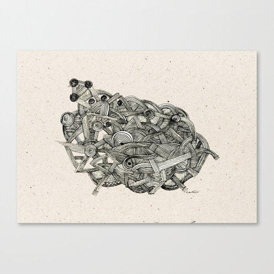 - dark world - Canvas Print