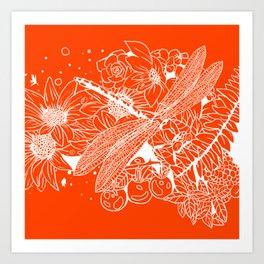 The Dragon Fly Art Print