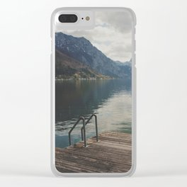 gmunden 10 Clear iPhone Case