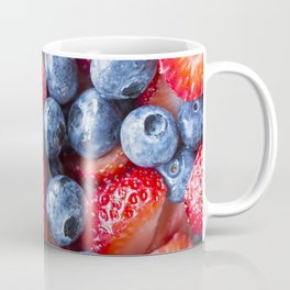 Blueberries and Strawberries 1 Coffee Mug