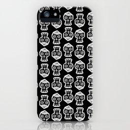 VertexSkull Invert iPhone Case