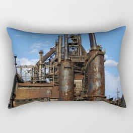 Bethlehem Steel Blast Furnaces Rectangular Pillow