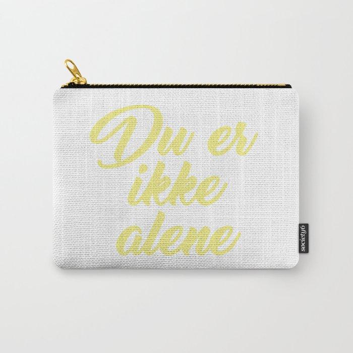 SKAM - Evak - Du er ikke alene // You're not alone Carry-All Pouch