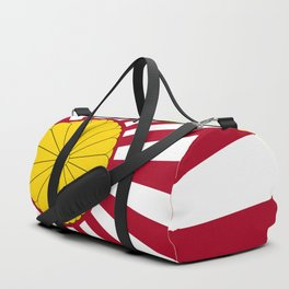 Japanese Flag And Inperial Seal Duffle Bag