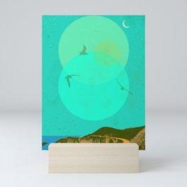 CALIFORNIA COAST II Mini Art Print